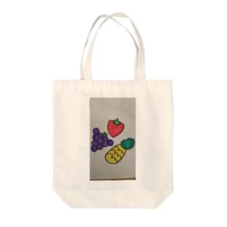 534388-568の果物だいすき Tote bags