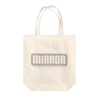 MIRROR Tote bags