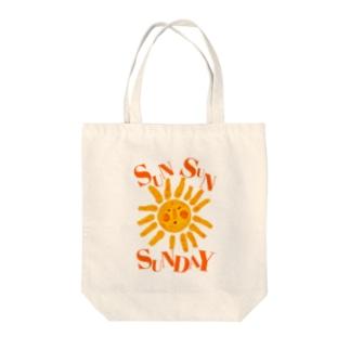 Sun!Sun!SUNDAY!! Tote bags