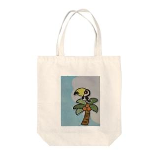 オオハシさんの夏 Tote bags
