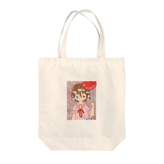 デコラくん Tote bags