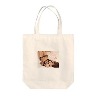 チェーン緊縛 Tote bags
