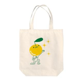 リンゴ達 Tote bags