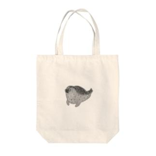 アザラシくん Tote bags