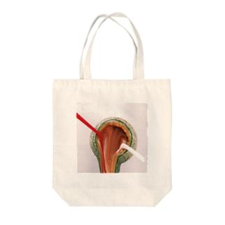 メロンアイスクリーム Tote bags