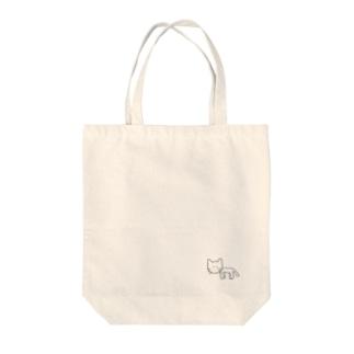 ネコチャン Tote bags