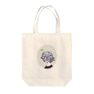 rainfall Tote bags