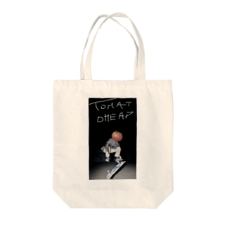 routine.k Tote bags