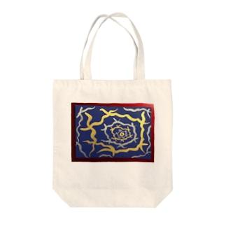 異次元への誘い Tote bags