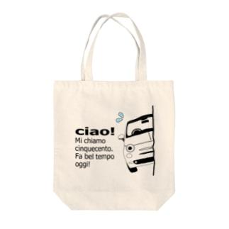 MYヒョッコリチン タカコスペチアーレ Tote bags