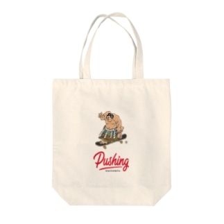 Pushing Tote Tote bags