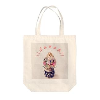 ガムボールちゃん Tote bags