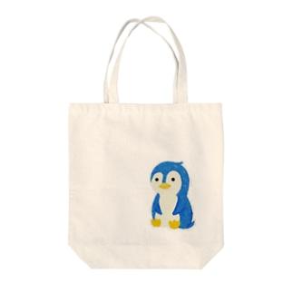 ふぃもぺんぎん Tote bags