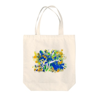 Happiness(koma) Tote bags