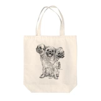 Pugberus Tote bags