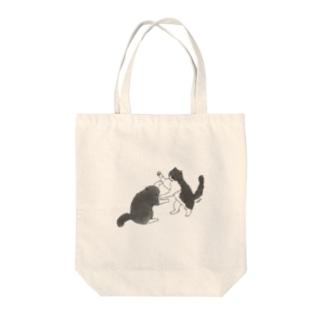 ぽこちょび Tote bags