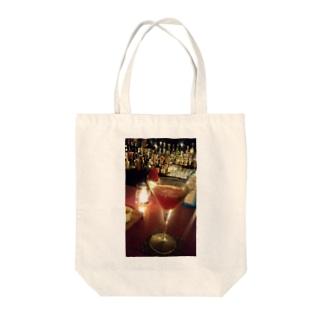 キラキラカクテル Tote bags