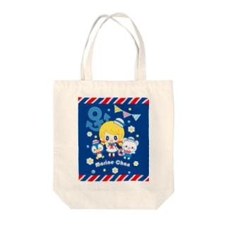マリンちゃん Tote bags