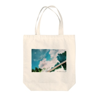Swimming fish Tote bags