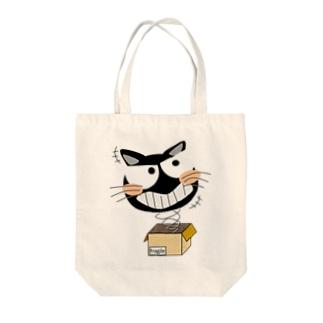 びっくり猫 Tote bags