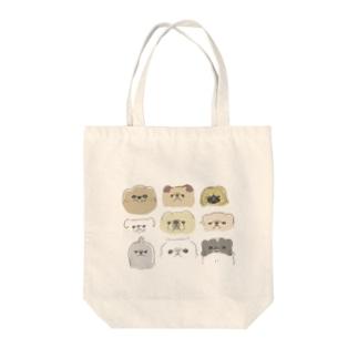 ペキニーズ達  Tote bags