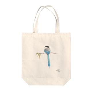 -ONAGA No.1- Bird call Tote bags
