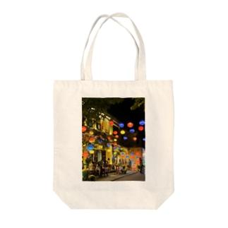 ベトナムホイアンの街並み。 Tote bags