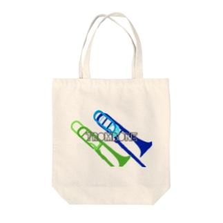 トロンボーン Tote bags