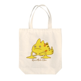 カエルアンコウちゃん Tote bags
