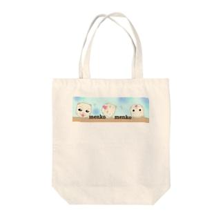 めんちゃんエコバッグ Tote bags