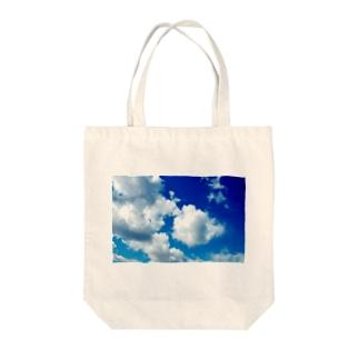 もくもく Tote bags