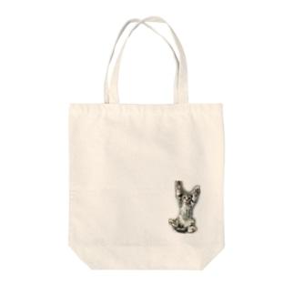 べ~にゃん Tote bags
