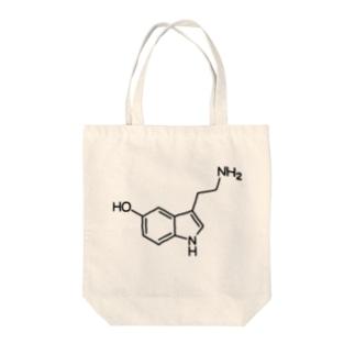 ヒドロキシトリプタミン Tote bags