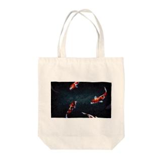 どっと屋のNishikigoi Tote bags