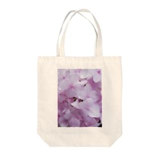 ピンクの紫陽花。 Tote bags