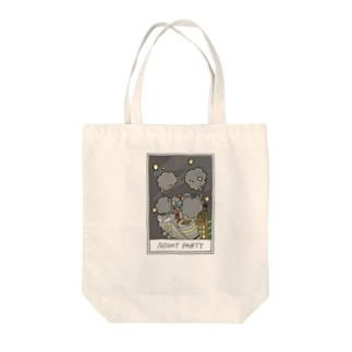NIGHT PARTY2 Tote bags