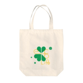 ecolife~クローバー~ Tote bags