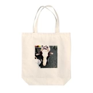 草食動物 Tote bags