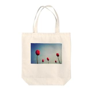 チューリップ2 Tote bags