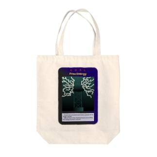 イルミナティカード風 フリーエネルギー Tote bags
