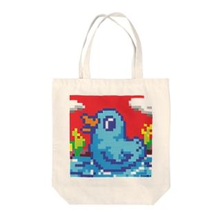 ドットバード Tote bags