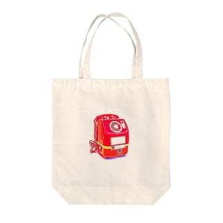 昭和の思い出 『赤電話』 Tote bags