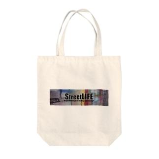STREET LIFE Tote bags