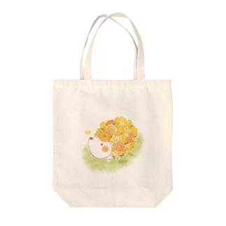 ハナネズミ Tote bags