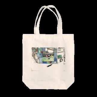 小野寺製作所二号店の下校時刻 Tote bags