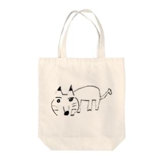 犬くん Tote bags