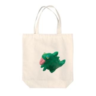 ガオーくん Tote bags