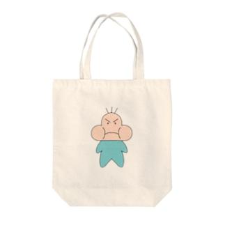 ぷくたろう Tote bags