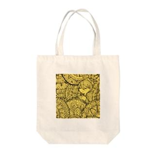 曼荼羅ちゃん Tote bags