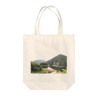 ダム Tote bags